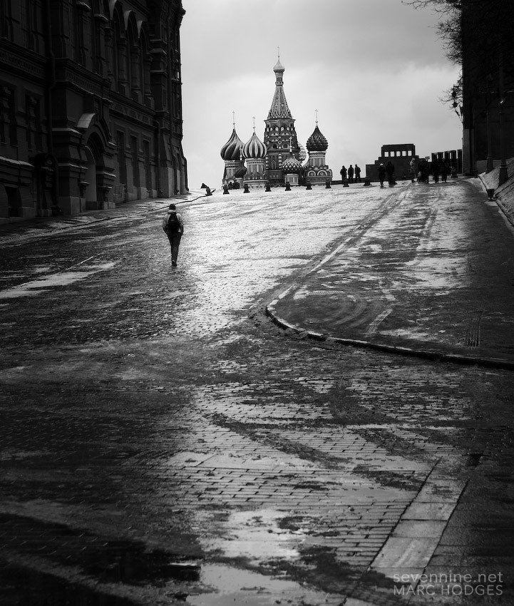 Walking to St Basil 1