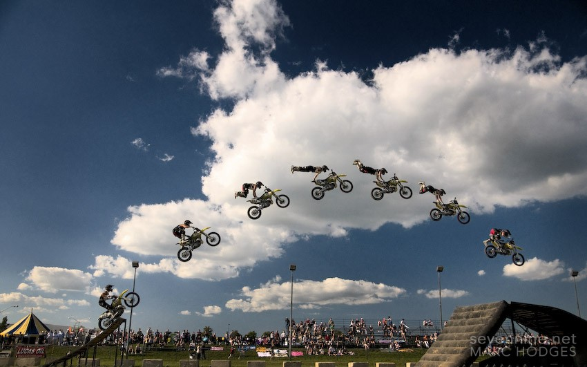 Bike Jump Sequence