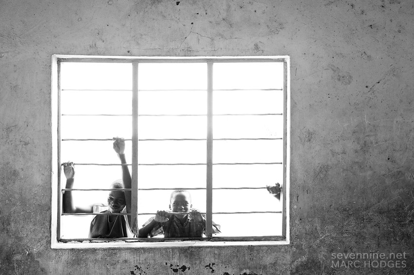 Kids in a Window