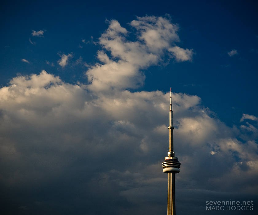 CN Tower & Clouds