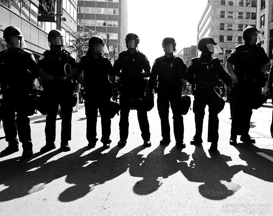 Cop Silhouettes