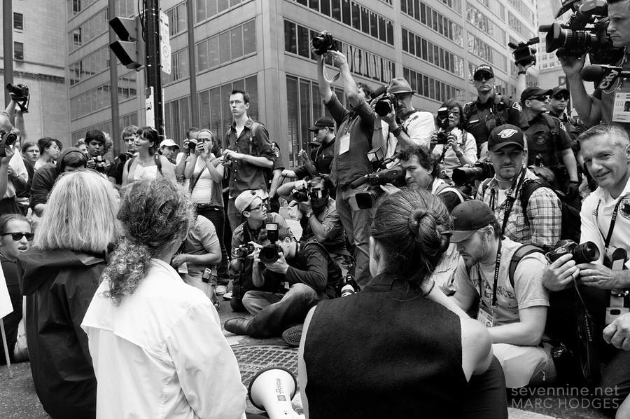 1-to-1 Protester to Photographer Ratio