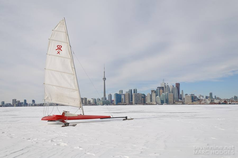 Winter Sports on the Island: Ice Sailing
