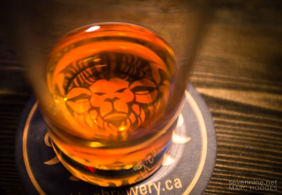 There's a Lion in my Beer