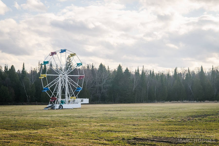 Ferris Wheel in the Field