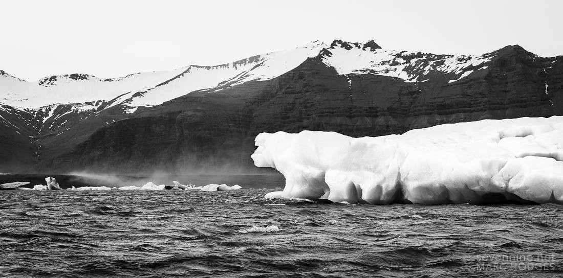 Iceberg and Mountains